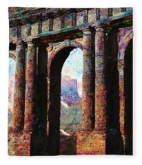 Arches Fleece Blanket