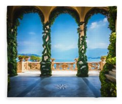 Arches Of Italy Fleece Blanket