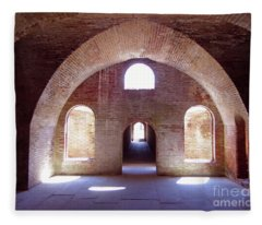 Arches Of Sunshine Fleece Blanket