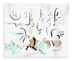 Archimedes Fleece Blanket