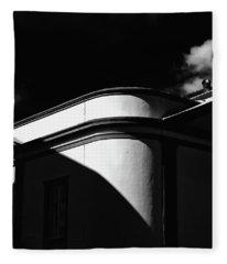 Architecture Shadow Light Game Fleece Blanket
