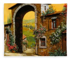 Arco Di Paese Fleece Blanket
