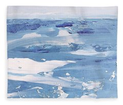 Arctic Ocean Fleece Blanket