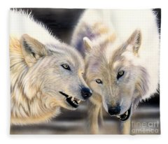 Arctic Pair Fleece Blanket