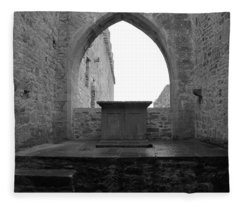 Ardfert Cathedral Fleece Blanket