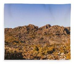 Arid Australian Panoramic Fleece Blanket