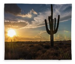 Arizona Vibes Fleece Blanket