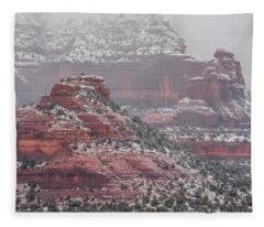 Arizona Winter Fleece Blanket