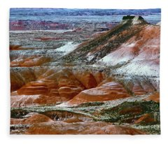 Arizona's Painted Desert Fleece Blanket