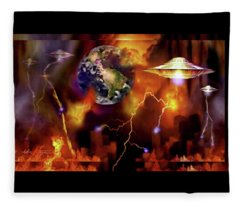Armageddon Fleece Blanket
