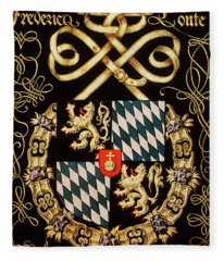 Armorial Plates From The Order Of The Golden Fleece - 84 Fleece Blanket