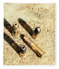 Arms Of Ammunition Fleece Blanket