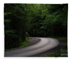 Around The Bend Fleece Blanket