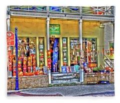 Around The World Marketplace Saint Augustine Fleece Blanket