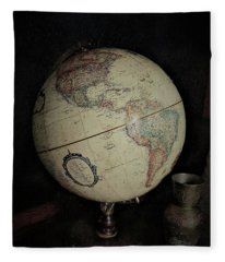 Around The World Fleece Blanket