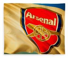 Arsenal F C  Fleece Blanket