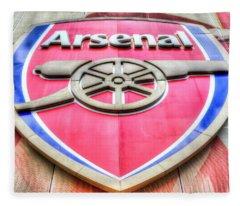 Arsenal Football Club Symbol Fleece Blanket