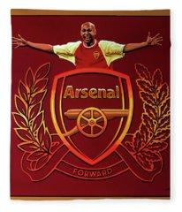 Arsenal London Painting Fleece Blanket