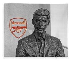 Arsene Wenger - Le Professeur Fleece Blanket