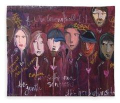 Art From Ashes 2010 Fleece Blanket