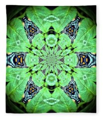 Art In Nature Fleece Blanket