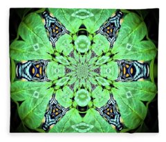 Art In Nature Fleece Blanket
