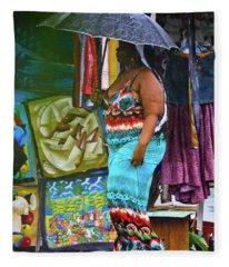 Art Lover Fleece Blanket