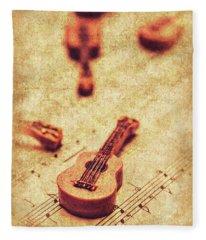Art Of Classical Rock Fleece Blanket