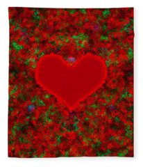 Art Of The Heart 2 Fleece Blanket