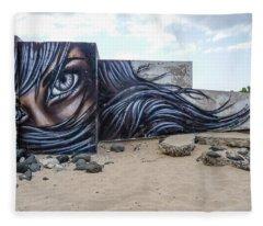 Art Or Graffiti Fleece Blanket