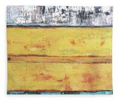 Art Print Abstract 34 Fleece Blanket