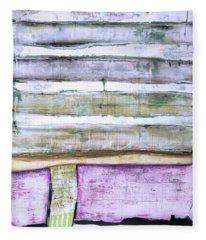 Art Print Abstract 93 Fleece Blanket