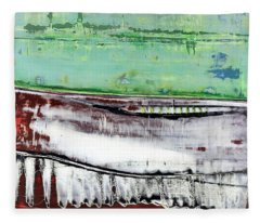 Art Print Abstract 97 Fleece Blanket