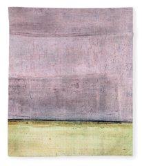 Art Print Abstract 15 Fleece Blanket
