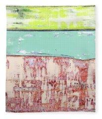 Art Print Abstract 19 Fleece Blanket