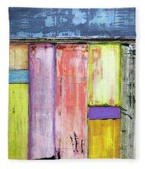 Art Print Abstract 47 Fleece Blanket