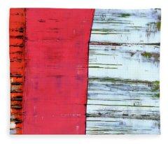Art Print Abstract 75 Fleece Blanket