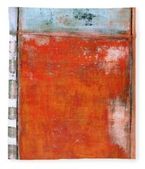 Art Print Abstract 8 Fleece Blanket