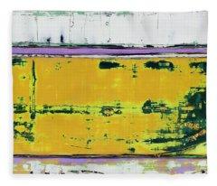Art Print Abstract 81 Fleece Blanket
