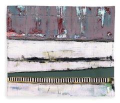 Art Print Abstract 86 Fleece Blanket