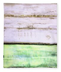 Art Print Abstract 87 Fleece Blanket
