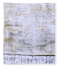 Art Print Abstract 96 Fleece Blanket