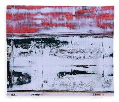 Art Print Abstract 99 Fleece Blanket