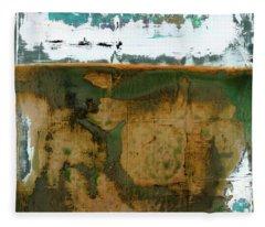 Art Print California 04 Fleece Blanket