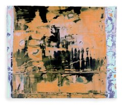 Art Print California 07 Fleece Blanket