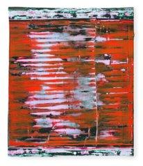 Art Print California 11 Fleece Blanket