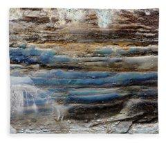 Art Print Cliff 1 Fleece Blanket