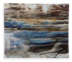 Art Print Cliff 1 Fleece Blanket
