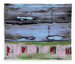 Art Print Sierra 7 Fleece Blanket