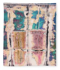 Art Print Square 8 Fleece Blanket